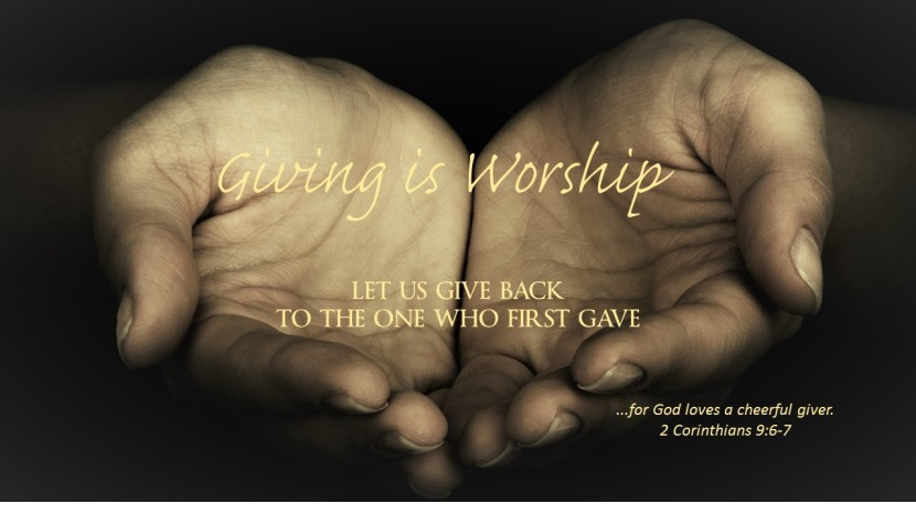 Worship Through Giving