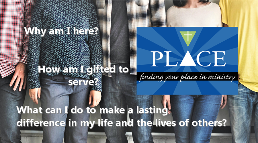 PLACE: Finding Your Place in Life and Ministry